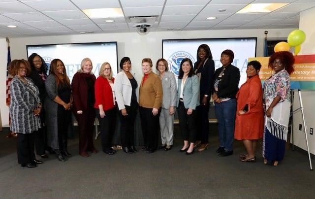 I-DIEM Co-Founder & CEO, Chauncia Willis, speaks at FEMA Women's History Event